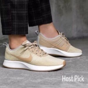 HP✨NEW Nike Dualtone Racer SE Running shoes suede